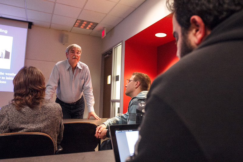 Dr. Patrick Gillevet, COS STEM Class