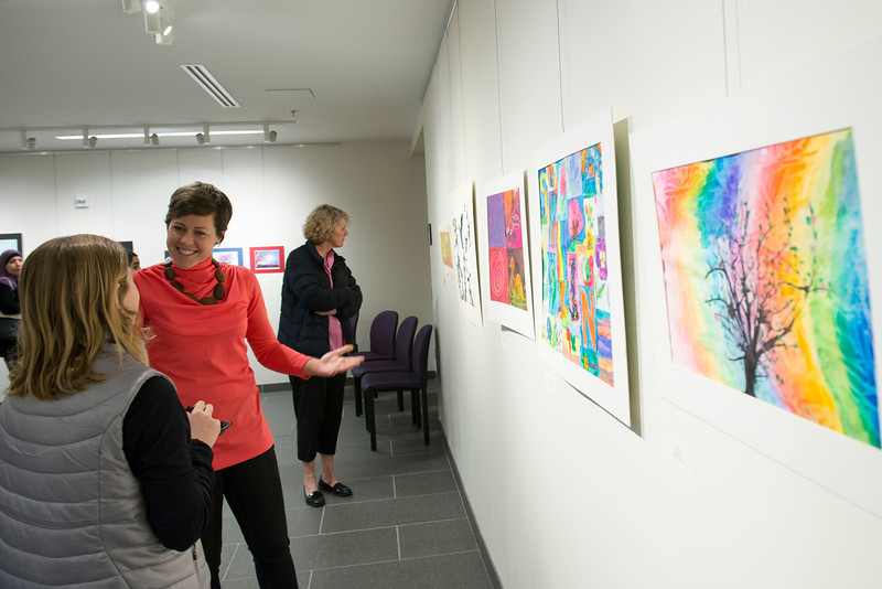 Founders Hall gallery opening