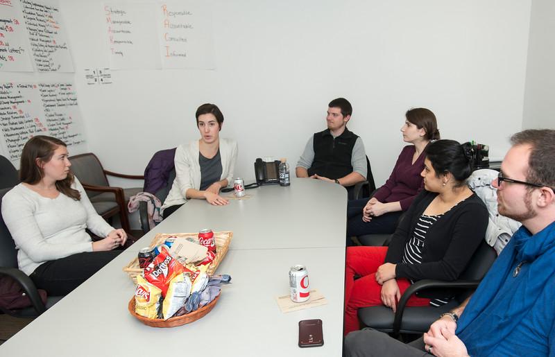 Graduate Arts Management students