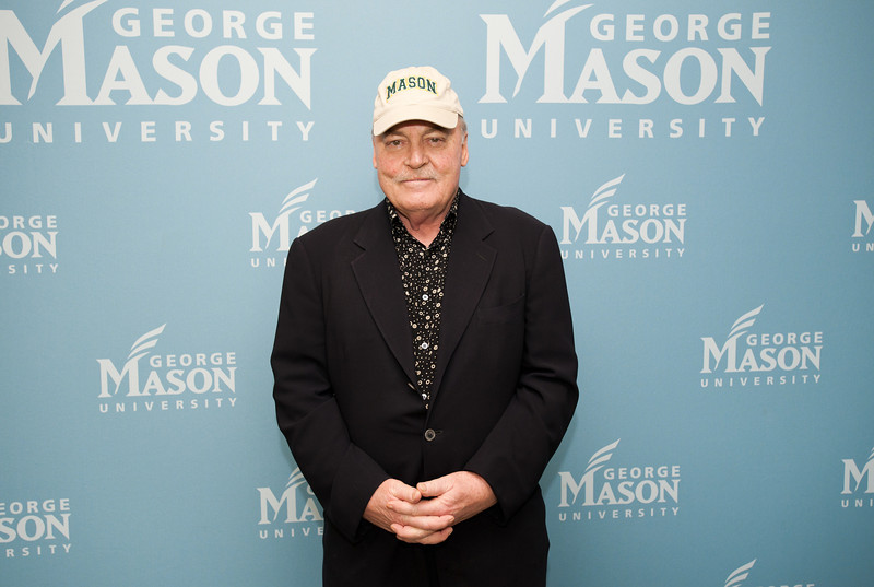 Actor Stacy Keach at Fairfax Campus. Photo by Alexis Glenn/Creative Services/George Mason University