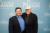 Actor Stacy Keach and Professor Ken Elston at Fairfax Campus. Photo by Alexis Glenn/Creative Services/George Mason University