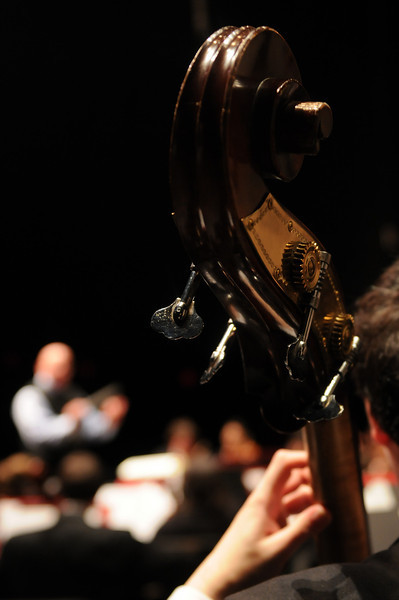 School of Music Symphony Orchestra. Photo by Creative Services/George Mason University