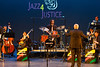 GMU Jazz Ensemble dress rehearsal for the Jazz4Justice concert.