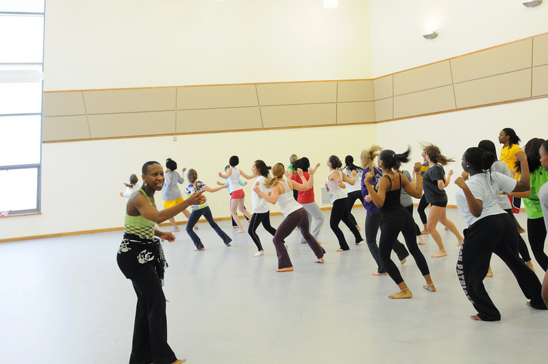 College of Visual and Performing Arts Dance. Photo by Evan Cantwell/Creative Services/George Mason University