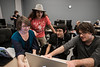 Students work in an Online and Mobile Gaming 232 class at Fairfax campus. Photo by Alexis Glenn/Creative Services/George Mason University