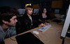 College of Visual & Performing Arts Computer Game Design class. Photo by Alexis Glenn/Creative Services/George Mason University