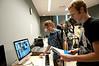Matt Nolan's Game Design class.  Photo by Evan Cantwell/Creative Services/George Mason University