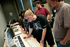 Matt Nolan's Game Design class.  Photo by Evan Cantwell/Creative Services/George Mason University