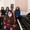 Dr. Monson's piano class. Photo by:  Ron Aira/Creative Services/George Mason University