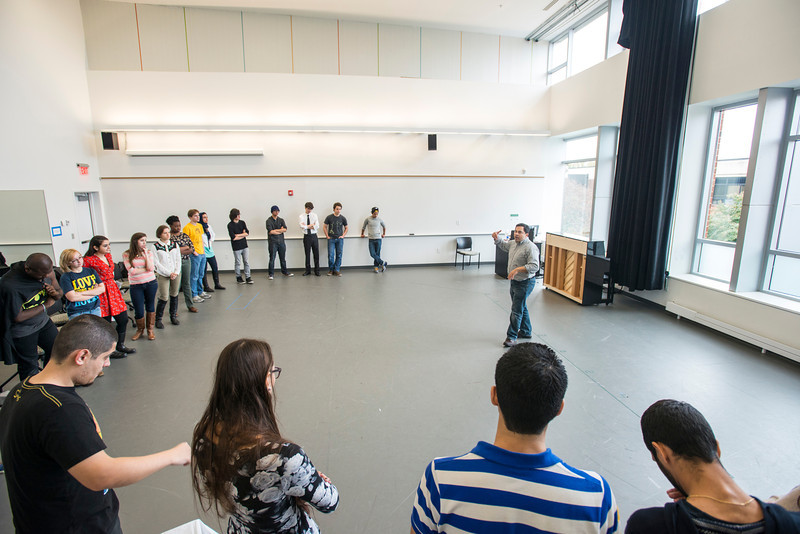 Acting I Theater class