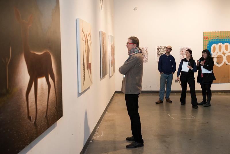 SOA Graduate Art critiques