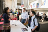 Employers and students attend the annual Arts in the Real World Internship and Career Fair.  Photo by:  Ron Aira/Creative Services/George Mason University