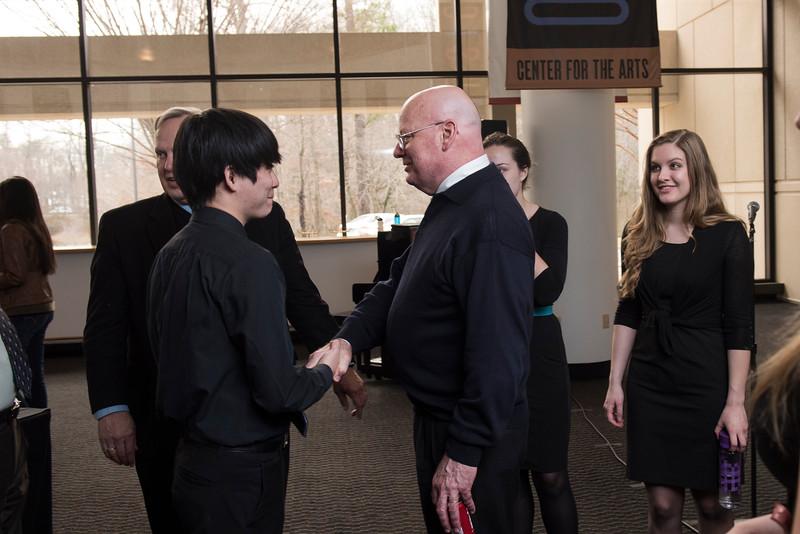 CVPA Dean's Reception