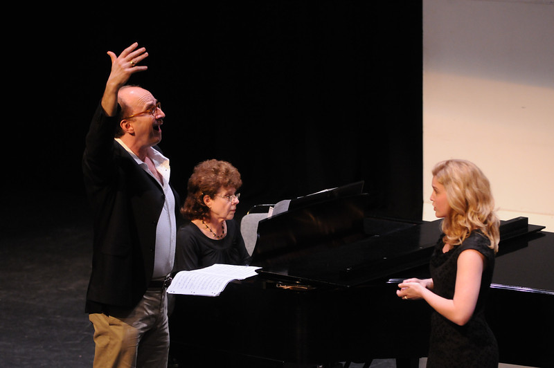 Opera Master Class, School of Music. Photo by Creative Services/George Mason University
