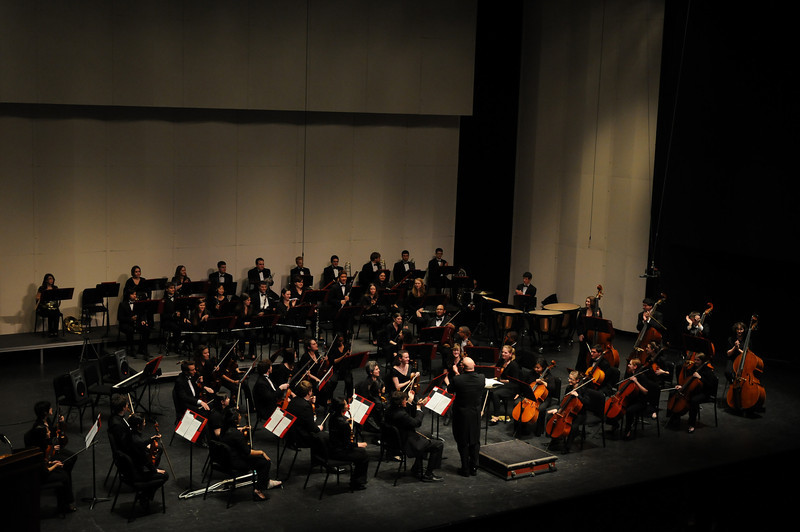 110222838 - School of Music Symphony Orchestra. Photo by Evan Cantwell/Creative Services/George Mason University