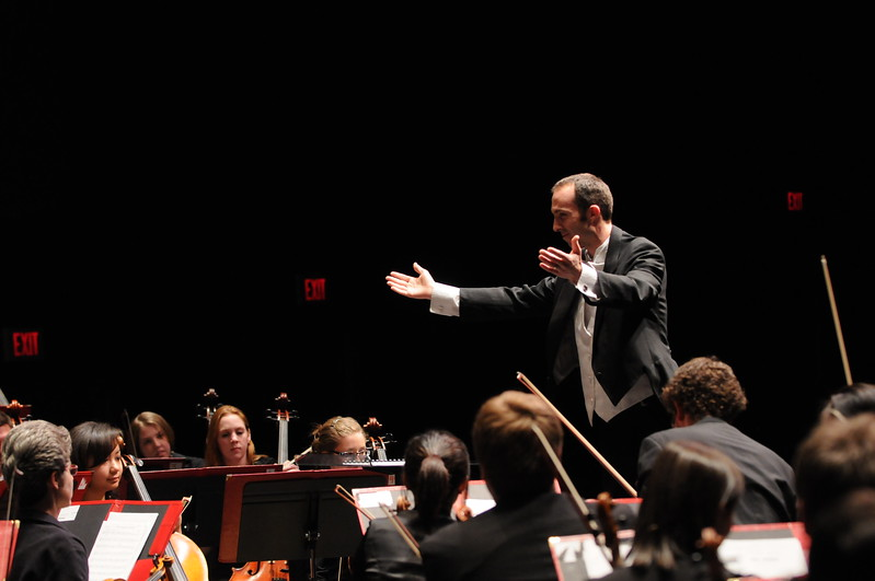 School of Music Symphony Orchestra. Photo by Evan Cantwell/Creative Services/George Mason University