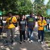 INTO Mason students at the Fairfax campus. Photo by Bethany Camp / Creative Services / George Mason University