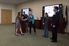 George Mason Honors College students give their presentations at the Honors College Connects Final Presentation. Photo by Bethany Camp / Creative Services / George Mason University