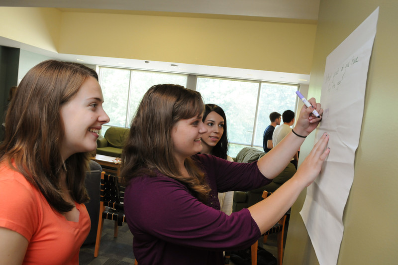 Honors College Living Learning Community. Photo by Evan Cantwell/Creative Services/George Mason University