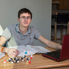 LLC Honors College student Austin Alderete