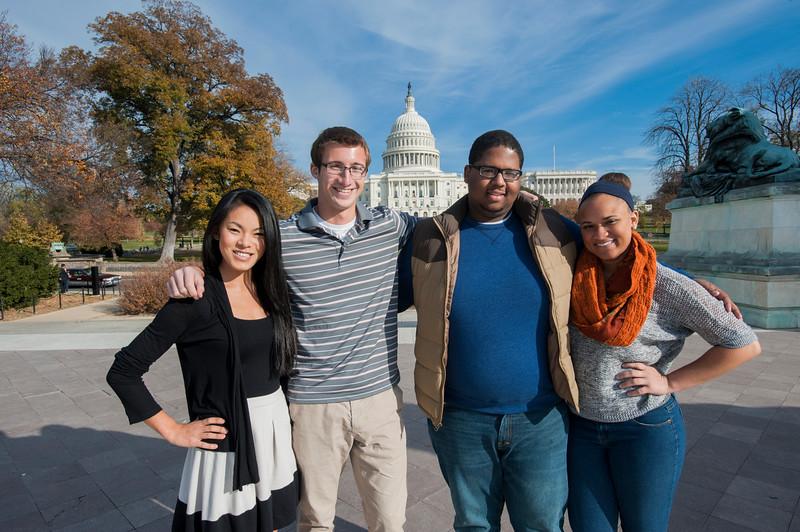 Mason Student Ambassadors visit Washington DC