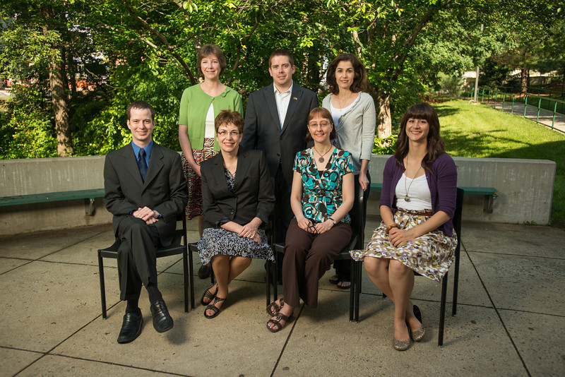 Krasnow Institute faculty and staff. Photo by Alexis Glenn/Creative Services/George Mason University