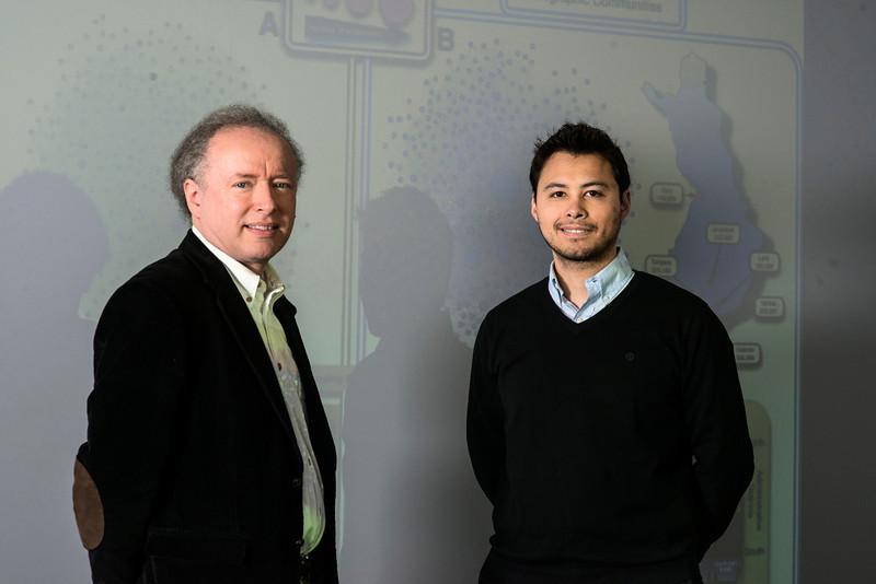 Rob Axtell and Omar Guerrero
