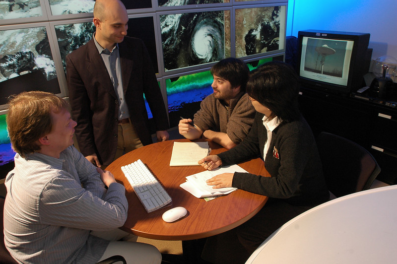 Guido Cervone and Graduate Research Students