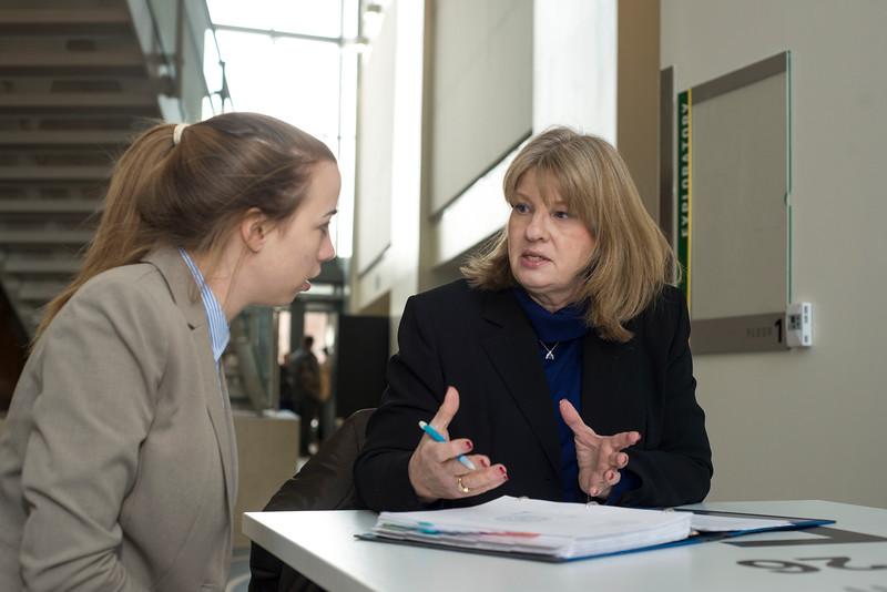 School for Conflict Analysis and Resolution teacher Pamela Struss