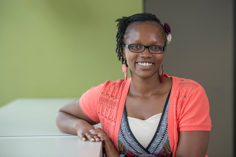 School for Conflict Analysis and Resolution PhD student Claudine Kuradusenge
