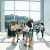 High school students participating in the S-CAR Conflict Resolution Youth Summit take a trip to Washington, DC. They stop by the United States Institute of Peace, the Ronald Reagan building, and the National Museum of African American History and Culture.  Photo by Bethany Camp / Creative Services / George Mason University