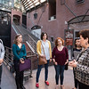 Students from the School for Conflict Analysis and Resolution take a tour of the Holocaust Museum in Washington, D.C.  Photo by:  Ron Aira/Creative Services/George Mason University