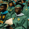 School of Policy, Government and International Affairs graduates participate in the school's convocation at The Eagle Bank Arena at George Mason University in Fairfax, Va., on May 13, 2016.