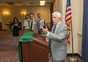 Students honor outgoing Virginia Representatives Frank Wolf and Jim Moran