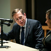 "Former CIA Director General David Petraeus speaks to GMU students during the ""Finding Common Ground on the New Cold War"" forum cohosted by Schar School of Policy and Government and Common Ground Committee. Photo by:  Ron Aira/Creative Services/George Mason University"