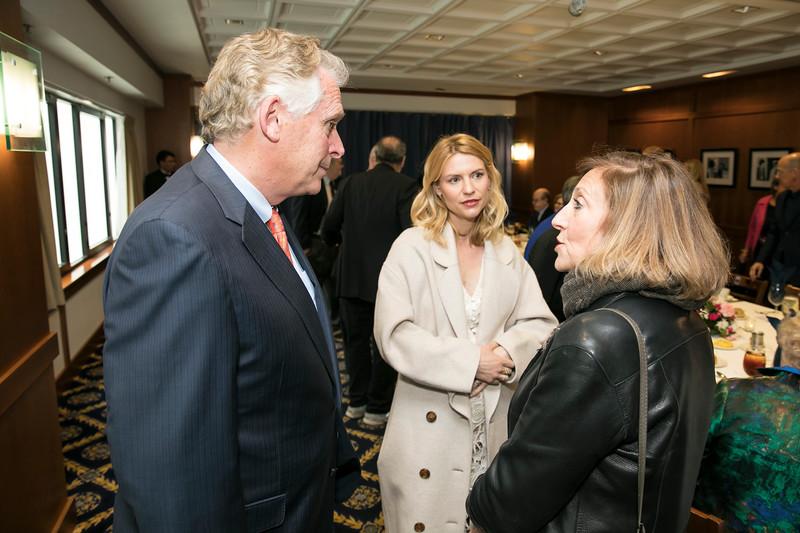 Terry McAuliffe, Claire Danes, Lesli Linka Glatter