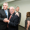 The Honorable Terence McAuliffe; Governor of Virginia and Gerry Connolly; United States Representative; VA 11th District at the Schar School of Policy and Government Dedication.  Photo by:  Ron Aira/Creative Services/George Mason University