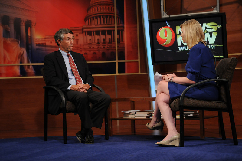 Stephen Fuller, Center for Regional Analysis at a Channel 9 WUSA TV interview.