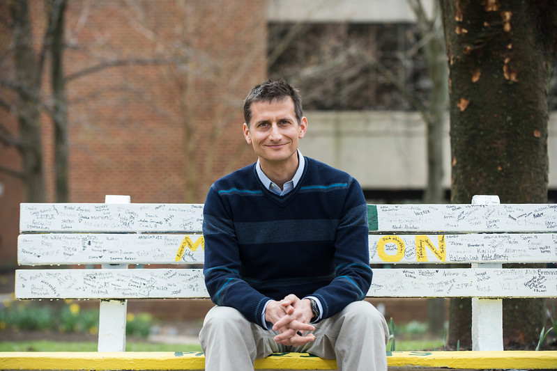 Eric McGlinchey got a big grant to study the erosion of U.S. influence in Central Asia.  Photo by:  Ron Aira/Creative Services/George Mason University