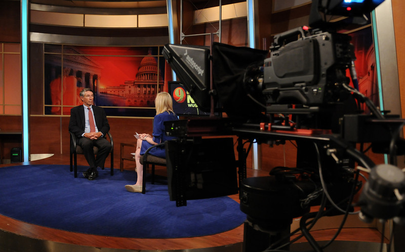 Stephen Fuller, Center for Regional Analysis at a Channel 9 WUSA TV interview. 090821095e