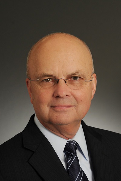Michael Hayden, Distinguished Visiting Professor, Schar School of Policy and Government. Photo by Creative Services/George Mason University