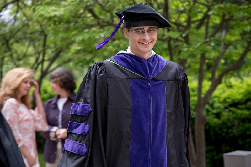 School of Law Convocation.  Photo by Levi Magyar