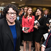 The Honorable Sonia Sotomayor Supreme Court of the United States, speaking to students following the Antonin Scalia Law School dedication ceremony.  Photo by:  Ron Aira/Creative Services/George Mason University