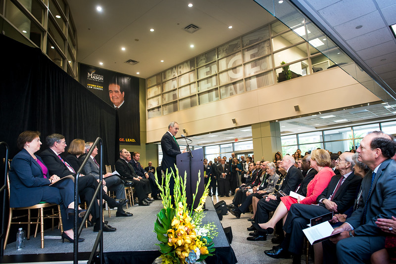 Antonin Scalia Law School Dedication