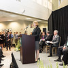 Catherine Scalia Courtney at the Antonin Scalia Law School Dedication.  Photo by:  Ron Aira/Creative Services/George Mason University