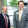 Kevin Avruch and David Rehr at the Antonin Scalia Law School Dedication.  Photo by:  Ron Aira/Creative Services/George Mason University
