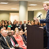Tom Davis, rector speaks at the Antonin Scalia Law School Dedication.  Photo by:  Ron Aira/Creative Services/George Mason University