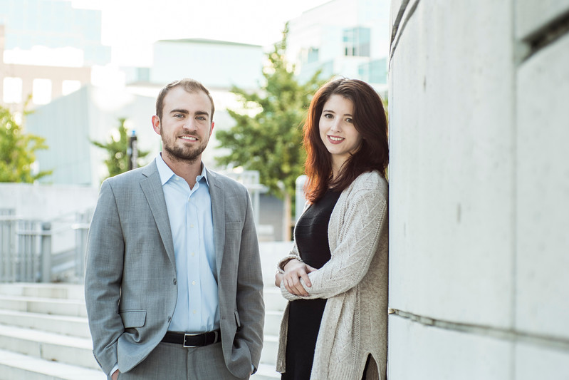 Anna Schaffner and Paul Coyle, Scalia Law School