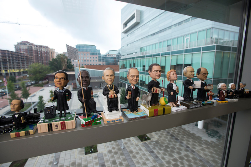 U.S. Supreme Court Justices bobblehead collection