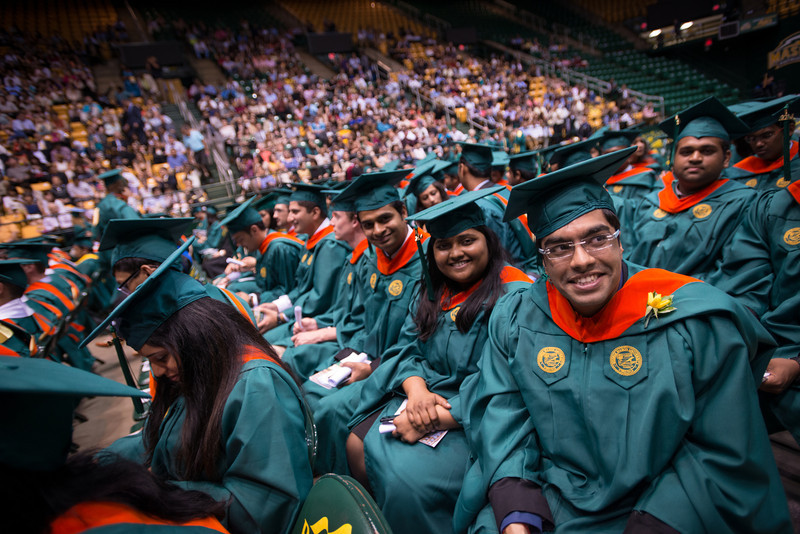 Volgenau School of Engineering Convocation. Photo by Evan Cantwell/Creative Services/George Mason University